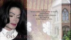 Michael Jackson ∼ Oxford Speech
