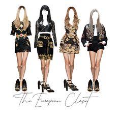 Dream Glow - Fashion look Band Outfits, Stage Outfits, Cute Outfits, Concert Fashion, Bts Inspired Outfits, Revolvers, Mini Vestidos, Fashion Design Sketches, Mode Streetwear