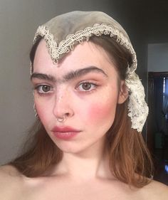 Eyebrows Goals, Thick Eyebrows, Glossier Girl, Ethereal Beauty, Arwen, Face Reference, Crazy Makeup, Cute Faces, Buttercup