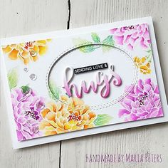 Day 1 of #thedailymarker30day For this card I combined the 'Build-A-Flower: Coral Charm' Stamp Set with the 'Script Words' Die Set and a Sentiment from the 'Adore you' Stamp Set. All goodies are by @altenewllc It feels so good to make flower cards again. Have a wonderful day! 🌸🍃🌸🍃🌸🍃🌸🍃🌸🍃🌸🍃🌸🍃🌸 . #handmade #handmadecards #cardmaking #papercraft #papercrafts #papercrafter #stamping #cardmaker #ilovecardmaking #coloringaddict #coloringisfun #altenew #altenewllc #altenewstamps…