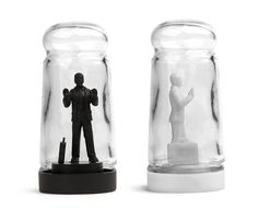 Drowning in Debt Salt and Pepper Shaker kitchen gadgets gifts