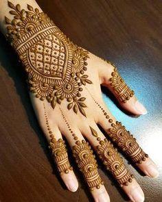 Henna Hand Designs, Dulhan Mehndi Designs, Mehandi Designs, Arte Mehndi, Mehndi Designs Finger, Mehndi Designs 2018, Mehndi Designs For Beginners, Bridal Henna Designs, Mehndi Designs For Girls