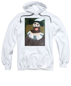 Patrick Francis Sweatshirt featuring the painting Rembrandt 2014 - After Rembrandt Self-portrait by Patrick Francis