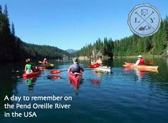 Less than an hour away from your cabin for a gorgeous day on the Pend Oreille near Metaline in the USA. A Day To Remember, Anything Is Possible, Make You Feel, Inspire Me, The Incredibles, Cabin, River, Feelings, Usa