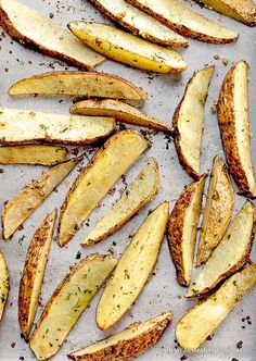 easy garlic roasted potato wedges recipe