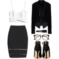 Cut-out top, chic fashion
