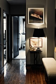 Smoke colored bachelor pad...