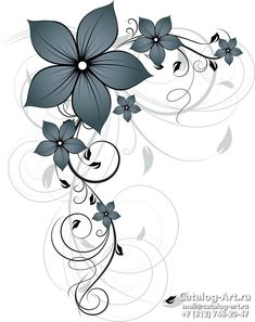 Creative Wall Painting, Art, Arabesque, Flowers, Art Background, Kunst, Performing Arts, Art Education Resources, Artworks
