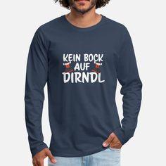 Dirndl Ersatz Oktoberfest Wiesn bock Geschenk Männer Premium Langarmshirt | Spreadshirt