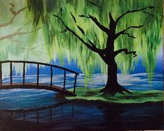 Join us for a Paint Nite event Mon Sep 2015 at 2 Galleria Mall Drive Taunton, MA. Purchase your tickets online to reserve a fun night out! Easy Canvas Painting, Diy Painting, Painting & Drawing, Canvas Art, Beginner Painting, Arte Popular, Acrylic Art, Tree Art, Painting Techniques