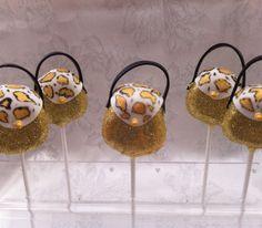 Leopard Print Handbag #Pops #cakepops
