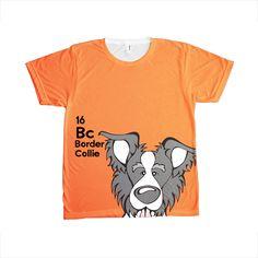 Border Collie - The Dog Table All-Over-Printing Tee