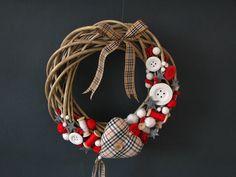 #wianek #bozenarodzrnie #wreath #christmas  Autorski wianek nie tylko krawcowych ;-)