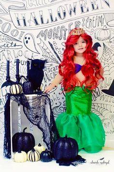 little mermaid costume   disfraz de la sirenita   https://www.facebook.com/malustreasurebox/