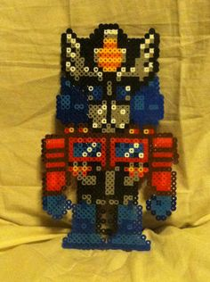 9 Optimus Prime Perler Bead. $8.00, via Etsy.
