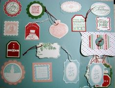 Tags Till Christmas by CraftHavenRetreats - Cards and Paper Crafts at Splitcoaststampers