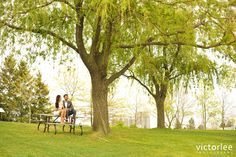 Fairy Tale Park Toronto Engagement Session