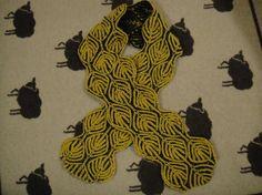 Alex Scarf - Brioche Knitting