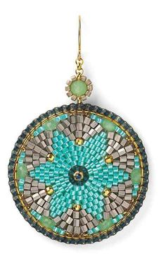 Bead Jewelry Collection by Miguel Ases featured in Bead-Patterns.com Newsletter! Check it out for featured FREE patterns, EyeCandy, supplies and more!