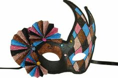 No masquerade ball is complete without some beautiful masquerade masks to go with it.  Whether you are dressing up for your school prom or homecoming or just having a great mardi gras or carnival party to celebrate, you can't go wrong with our great selection of venetian masks, masquerade half masks, deluxe metal half masks or any of our full face masquerade masks. $27.54