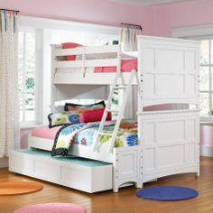 Loft Bed Bedrooms for Girls | Loft Beds Ideas, Loft Beds For Your Girl, Beautiful Loft Beds, Bedroom ...