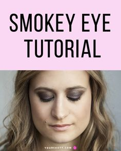 An Easy Smokey Eye Tutorial Anyone Can Follow - Expert tips to get sultry smokey eyes.