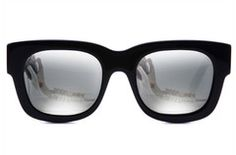 Valley in Matte Black / Silver Mirrored Lens