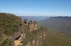 Blue Mountains, Katoomba, Australia (The three sisters)