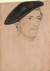 An unidentified man 16th century 16th century    Follower of Hans Holbein the Younger