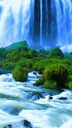 Waterfalls  Lakes Plitvice, Croatia (National Park)