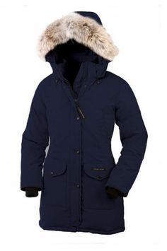 Canada Goose Trillium Parka Women Navy With Fast Delivery - $309