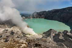 The crater lake of Ijen (Photo: Ivana Dorn) The Ijen volcano complex is a group of composite volcanoes in the Banyuwangi Regency of East Java, Indonesia. It is inside a larger caldera Ijen, which is about 20 kilometres wide. Wikipedia