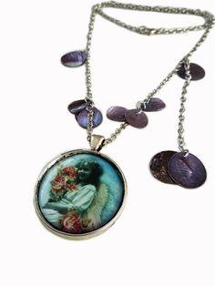 Necklace | Colar ref. 312-5-30 colecção  In Heaven  by carlaamaro on Etsy  www.carla-amaro.com