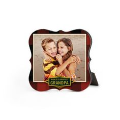 Classic Heart Desktop Plaque by Shutterfly. Who needs a frame? Make a mini masterpiece with a beautiful desktop plaque in a range of designs for every occasion.