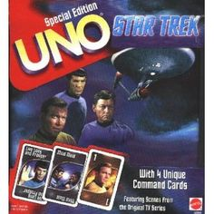 Star Trek UNO - Special Edition - Collector's Tin - Card Game (Toy) http://www.amazon.com/dp/B000NYNRBW/?tag=jaspi0a-20 B000NYNRBW