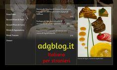 Il menù del ristorante: esercizi per studenti di italiano L2/LS
