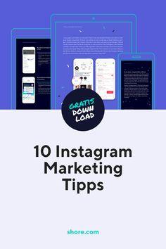 Wir haben für dich einen ausführlichen Guide zum Thema Instagram Marketing zusammengestellt, der dir dabei helfen wird, mehr Reichweite und mehr Instagram Follower zu generieren, deine Zielgruppe besser zu verstehen und neue Kunden zu gewinnen. Inklusive praktischer Anleitungen, Post-Vorlagen und Templates.