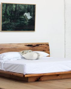 Sunrise Platform Bed - Recycled Timber Furniture Melbourne, Yard Furniture