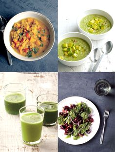 WHOLE LIVING DETOX PLAN- amazing recipes for every day of the week, great smoothies and dinner ideas