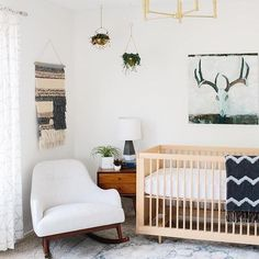 We are hanging on every detail of this nursery from @avestyles! But the story behind the nursery is even more beautiful. Hop over to her page to read more.