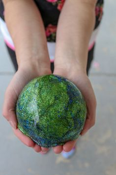 Earth Day Slime #earthday #earthdaycrafts #slimerecipe