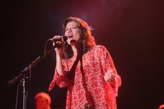 GRAMMY-winning contemporary Christian artist Amy Grant offers a piece of heaven during a performance on July 23 in San Jose, Calif.