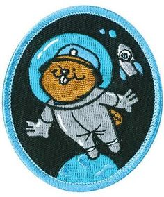 Crest - Beaver In Space - Scout Shop