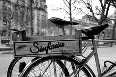 Le vélo et la caisse