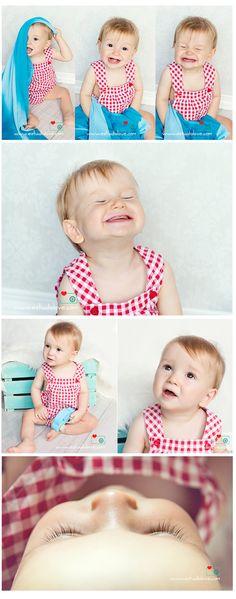 Fotos Bebés originales / 9 month old baby photo ideas www.estudiolove.com