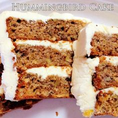 2- Hummingbird Cake _ Here it is, my absolute most favorite cake in the whole wide world. It's the most requested recipe at Southern Living, honestly it's hard to describe in words just how good this cake is!!