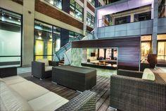 Foundry Lofts Courtyard