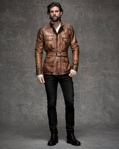 Choosing The Right Men's Leather Jackets – Revival Clothing Leather Jacket Outfits, Men's Leather Jacket, Leather Men, Jacket Men, Leather Jackets, Brown Leather, Bomber Jacket, Rugged Style, Mode Masculine