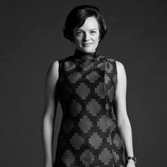 """""""Stop barging in here and infecting me with your anxiety."""" - Peggy Olson"""