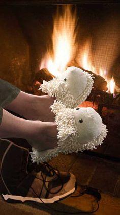 Luscious Lamb Slippers